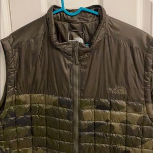 North Face Thermoball Camo Vest